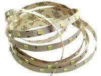 Светодиодная гибкая лента на самоклеющейся основе (широкоуг.свеч.) 5060SMD 150LED и 300LED Белый холодный PRC
