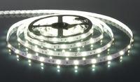 Светодиодная гибкая лента на самоклеящейся основе 300LED 2835 12В эконом 5м Белый хол.