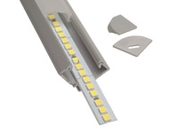 Алюминиевый профиль угловой 17.17.12мм 2м ЛПУ-17