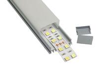 Профиль алюминиевый анодированный ЛСС -с20 12х36.1х12 2м