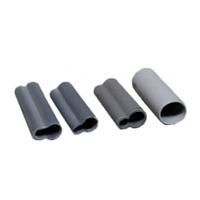 Изоляторы силиконовые Серые Закрытые 16мм