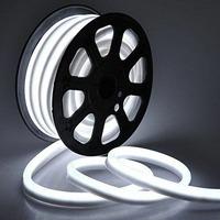 Гибкий неон 12В 11Вт 25 мм, цвет белый